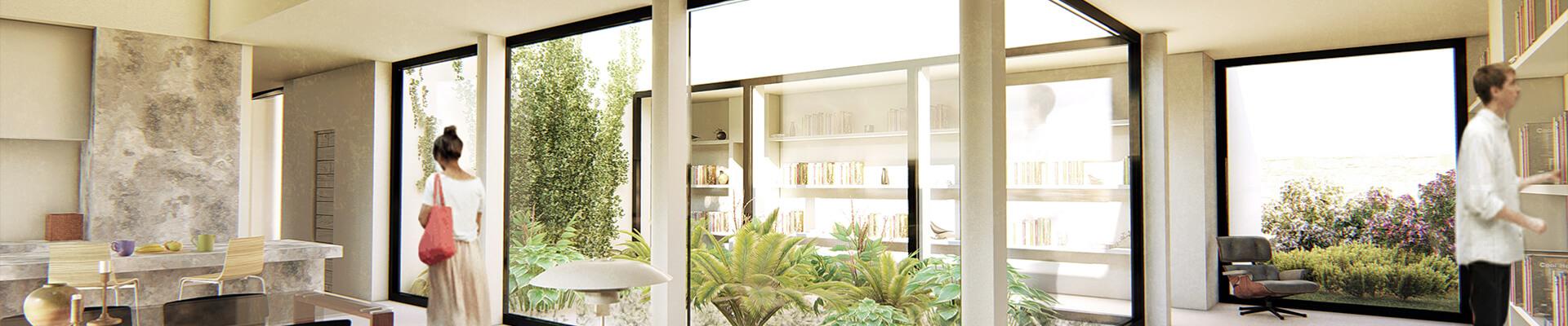 Beamonte y Vallejo Arquitectos - Viviendas Passivhaus, 1