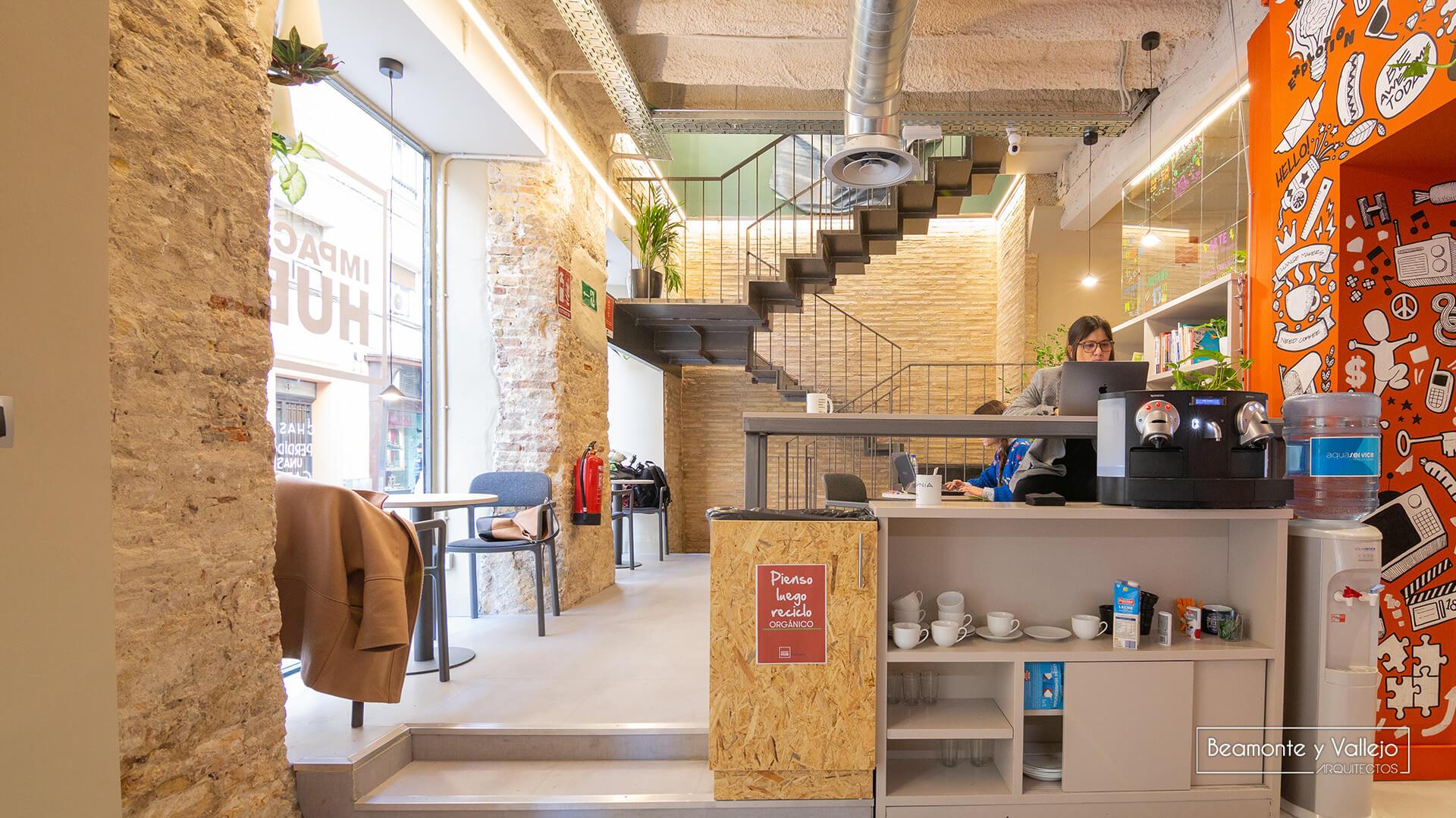 Beamonte y Vallejo arquitectos - HUB ZGZ, 2