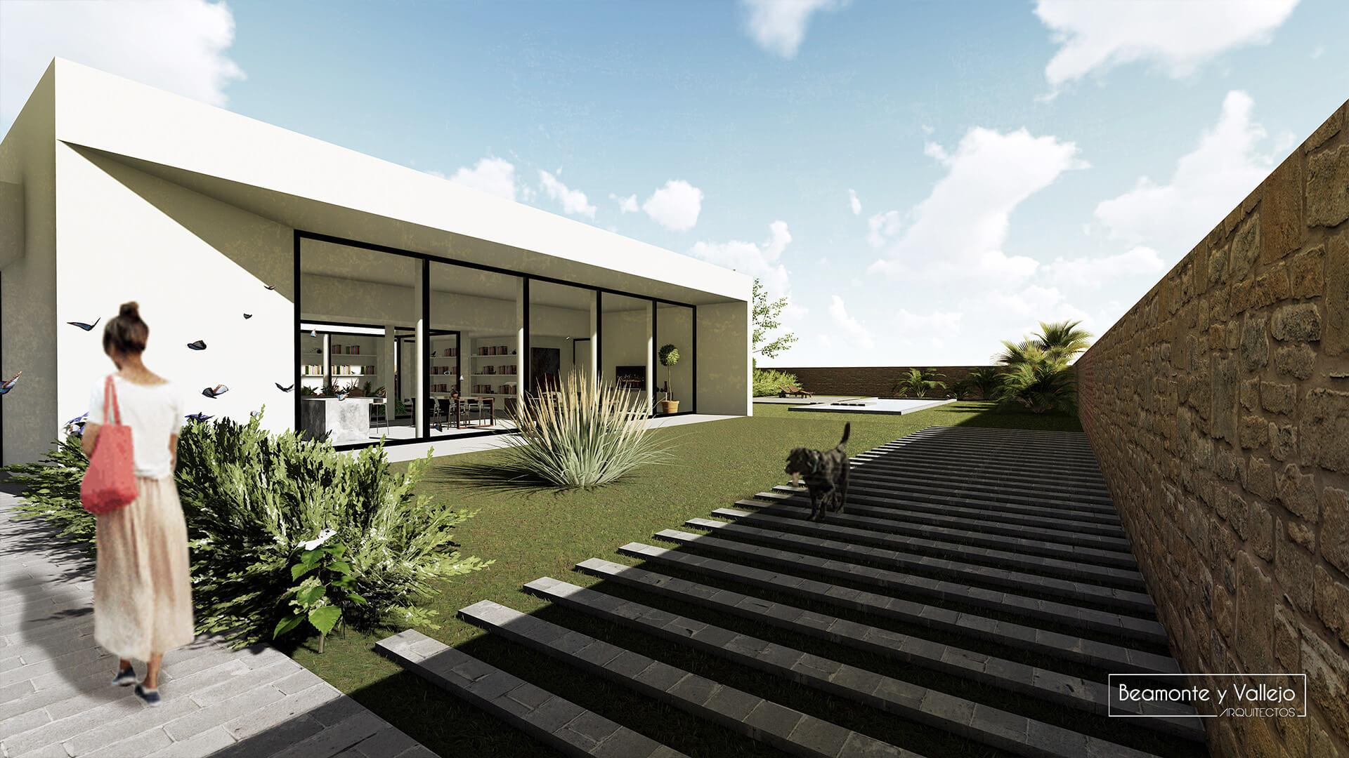 Beamonte y Vallejo arquitectos - Passivhaus El Zorongo, 2
