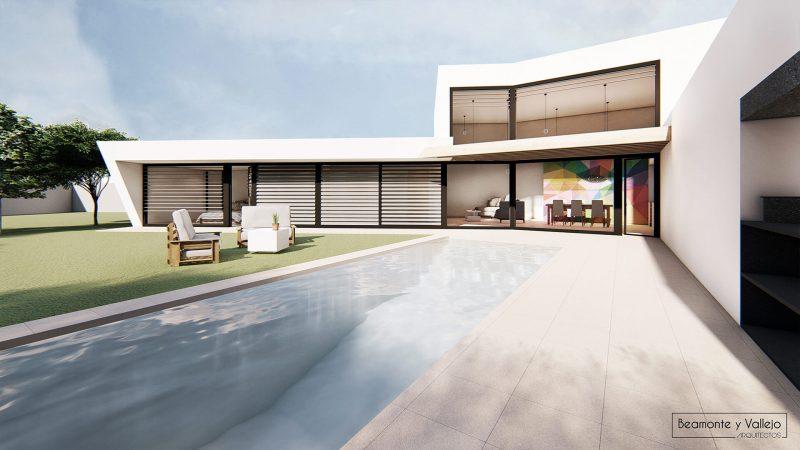 Beamonte y Vallejo arquitectos - Passivhaus Las Lomas - 3