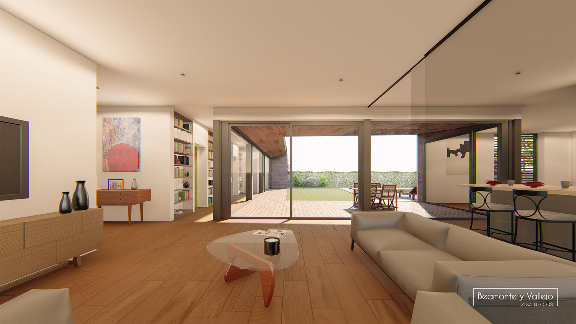 Beamonte y Vallejo arquitectos - Passivhaus Utebo - 1