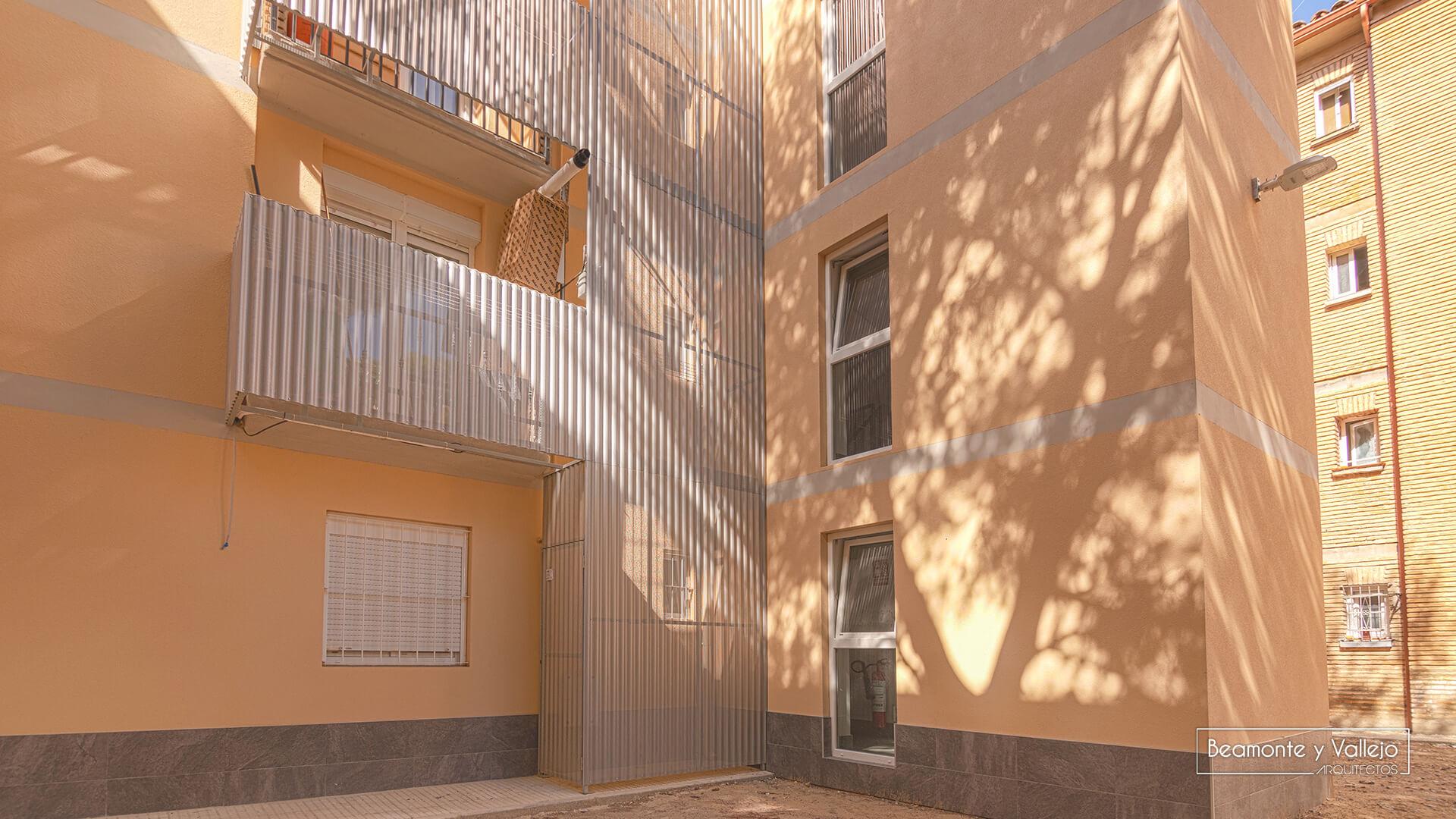 Beamonte y Vallejo arquitectos - Rehabilitación energética valle de pineta - 15