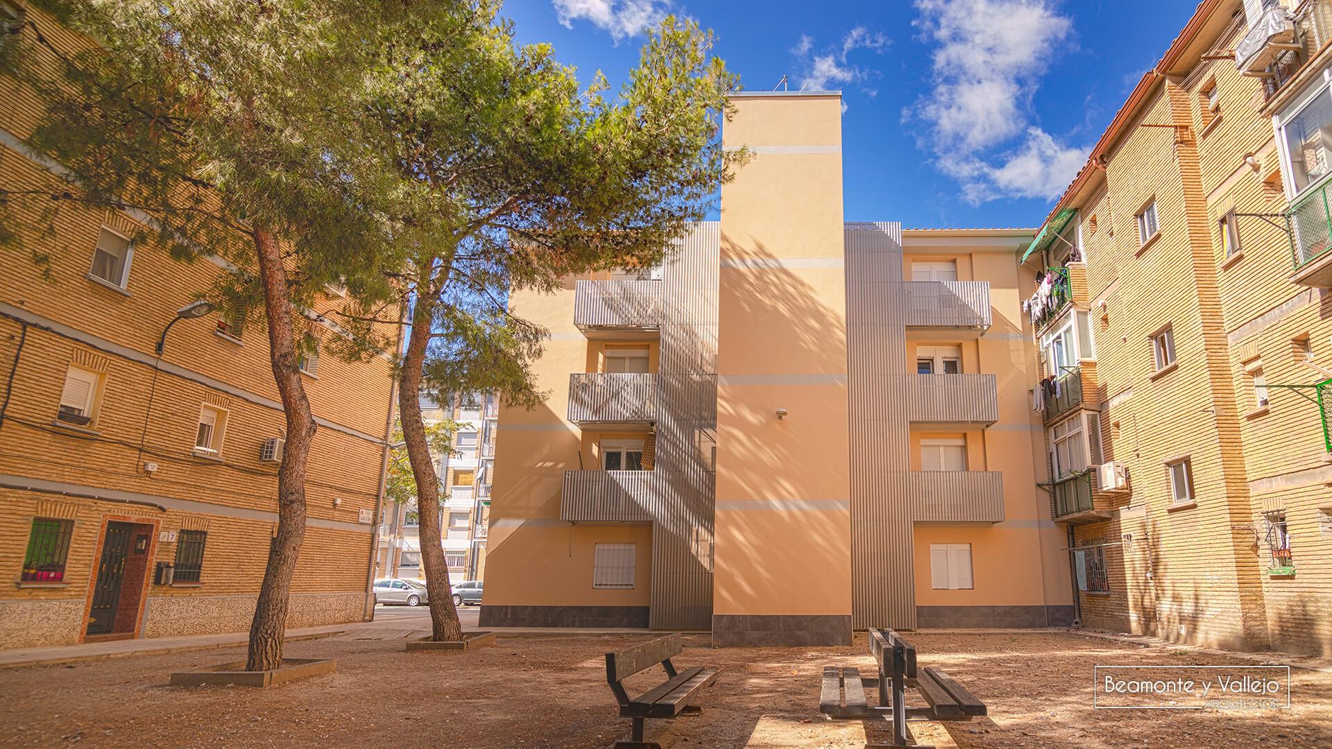 Beamonte y Vallejo arquitectos - Rehabilitación energética valle de pineta - 16
