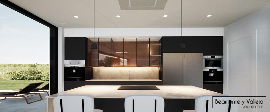 Beamonte y Vallejo Arquitectos Blog - Passivhaus Cocina recirculación