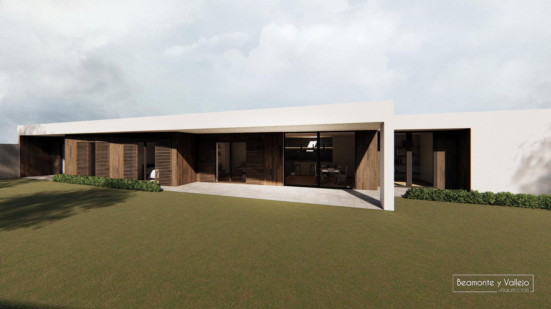 Beamonte y Vallejo Arquitectos - Passivhaus Pradejón 1