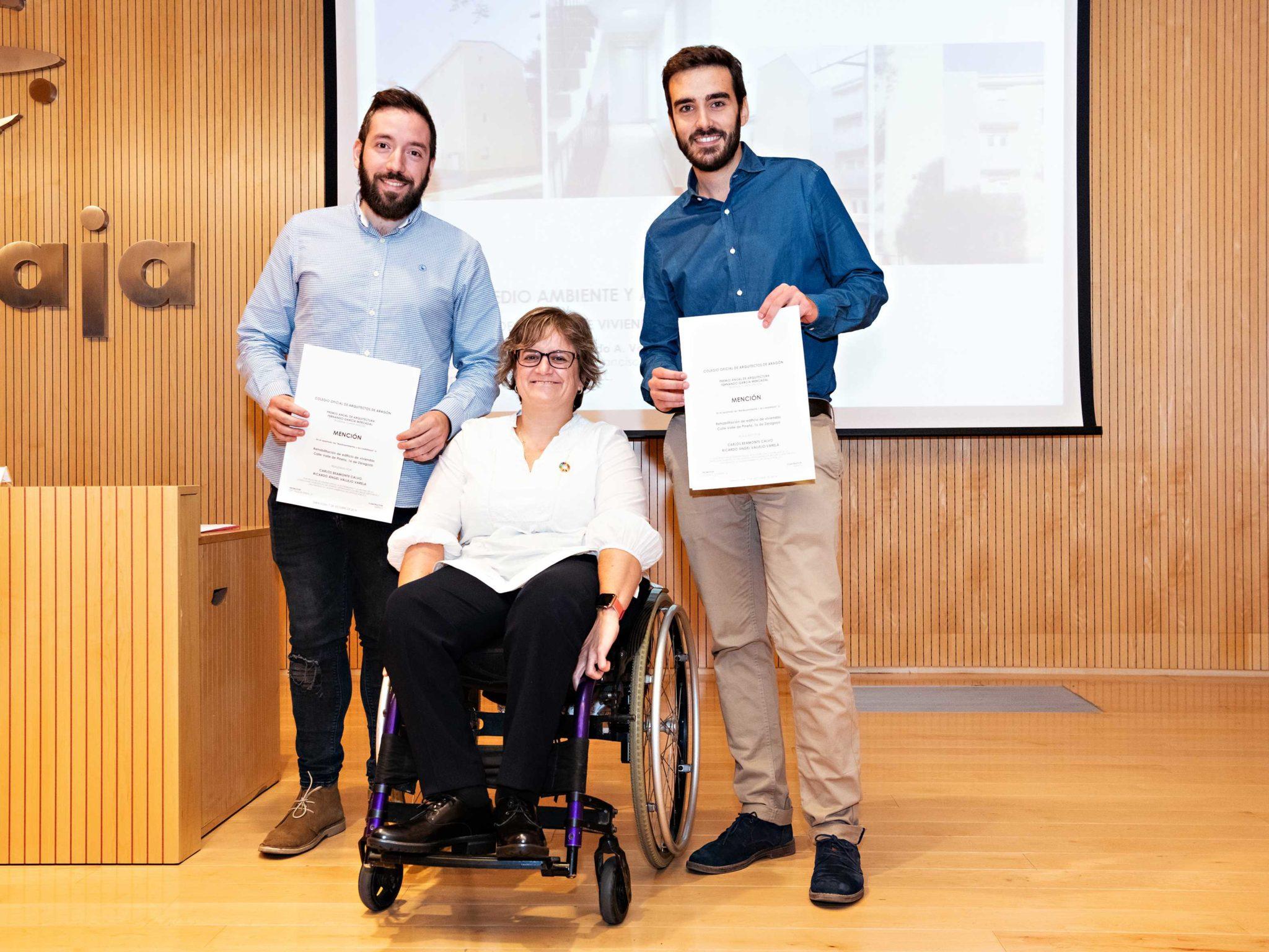 Beamonte y Vallejo Arquitectos - Premio García Mercadal 2019