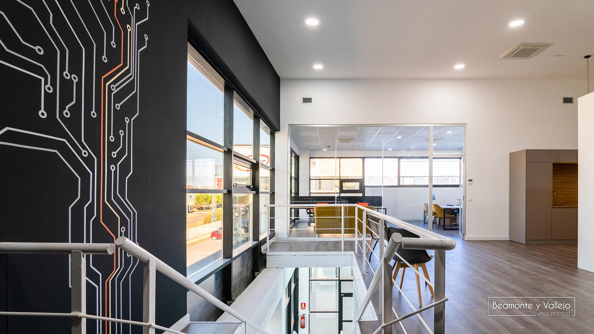 Beamonte y Vallejo arquitectos - Oficinas Arkel - 2