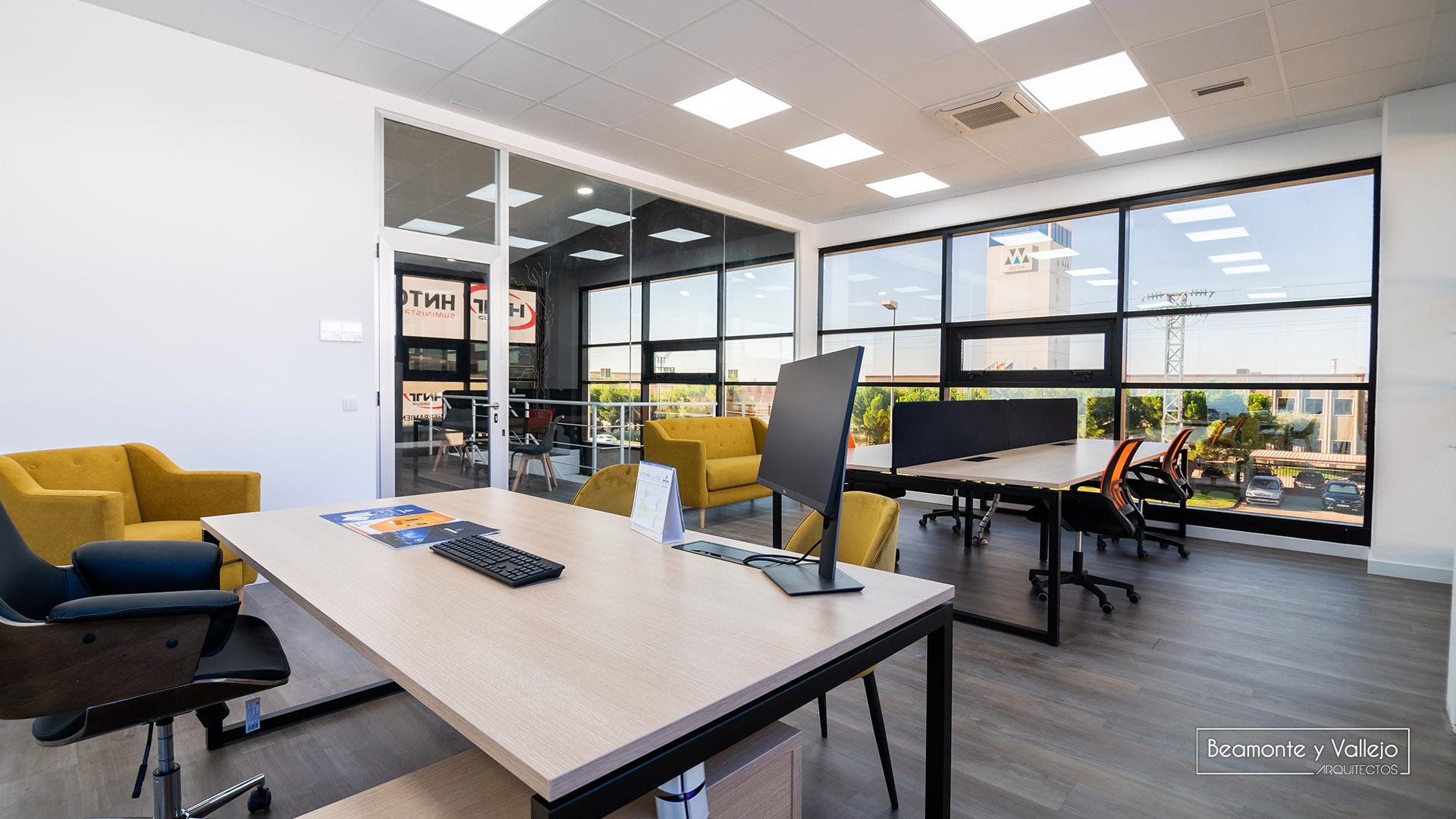 Beamonte y Vallejo arquitectos - Oficinas Arkel - 3