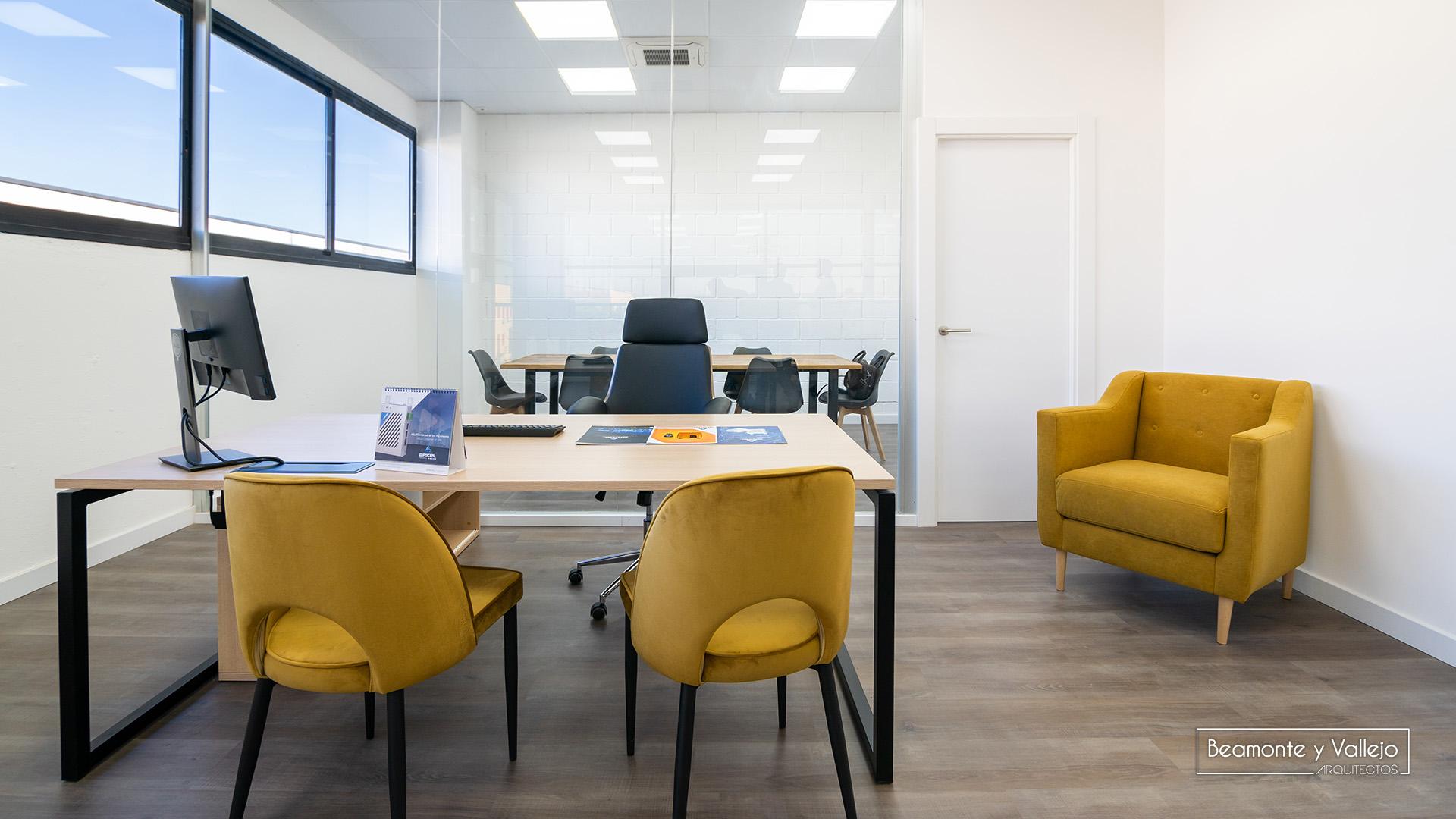 Beamonte y Vallejo arquitectos - Oficinas Arkel - 5