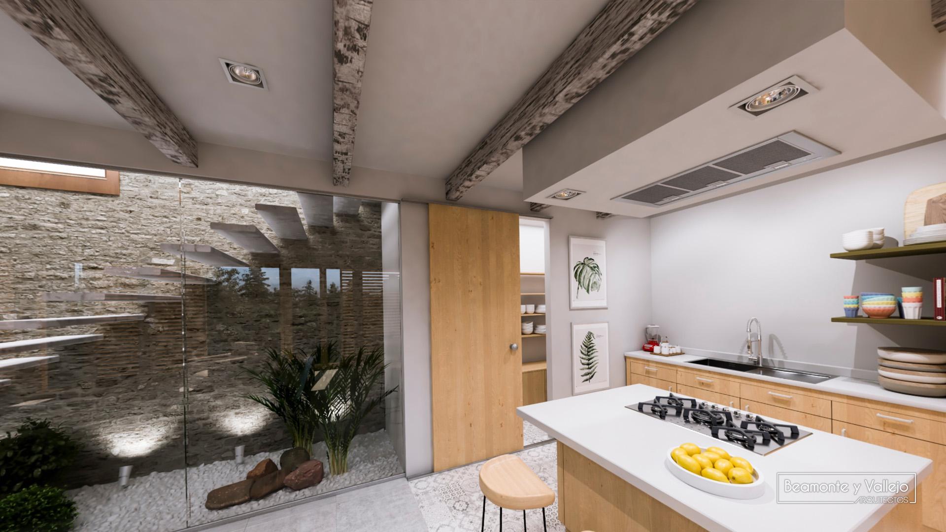 Beamonte y Vallejo arquitectos - Passivhaus Buera - 3