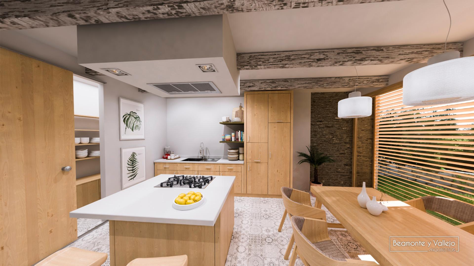 Beamonte y Vallejo arquitectos - Passivhaus Buera - 4