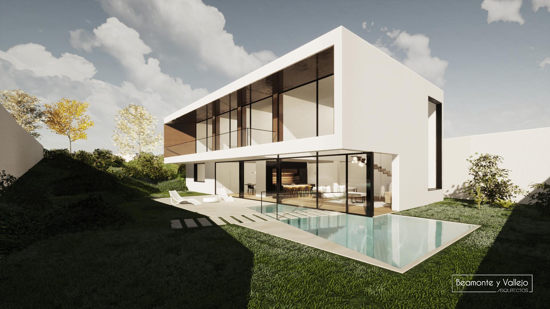 Beamonte y Vallejo arquitectos - Passivhaus, Colonia de San Lamberto (1)