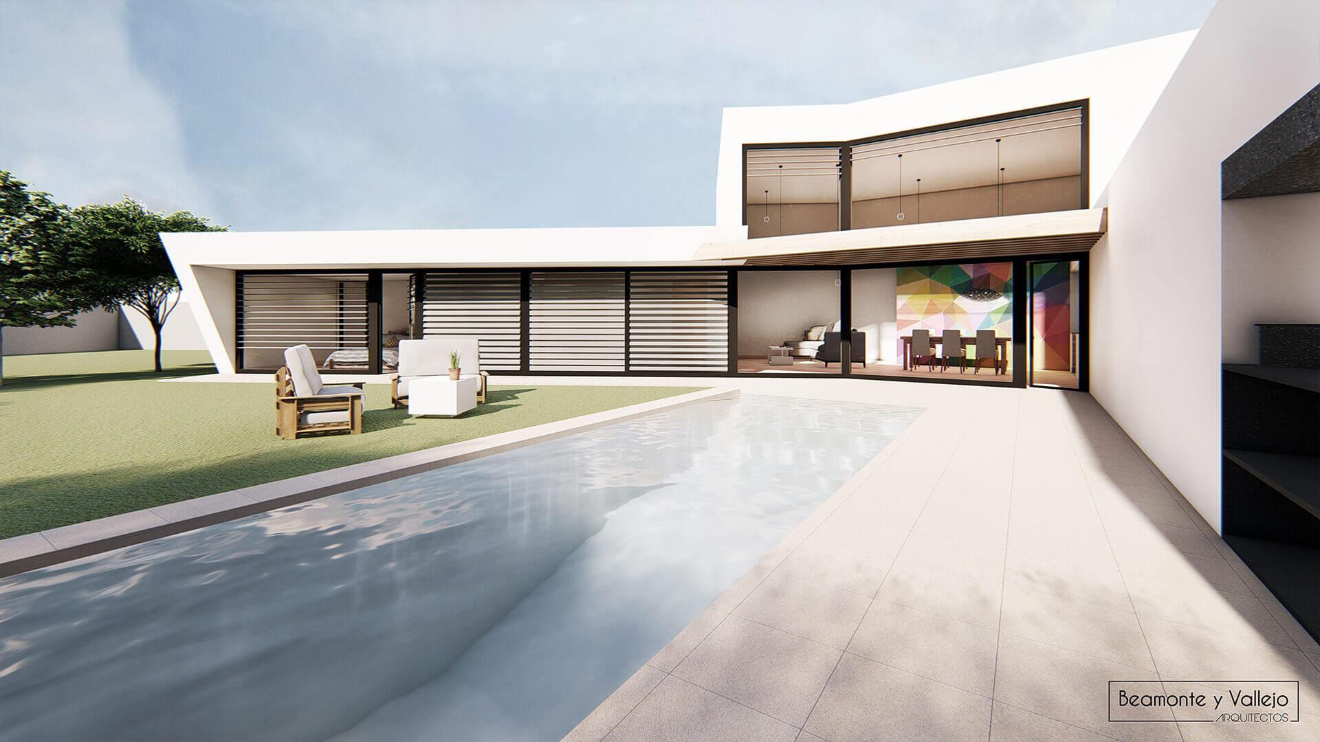 Beamonte y Vallejo arquitectos - Passivhaus Las Lomas 1 - 3