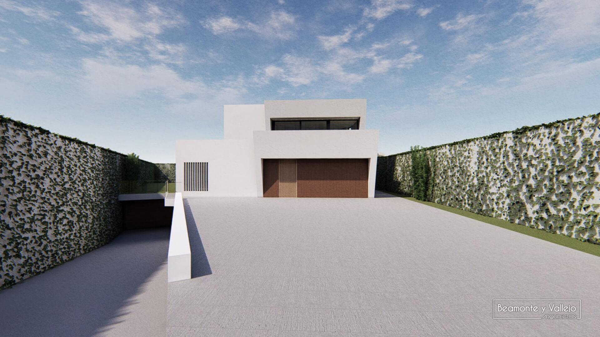 Beamonte y Vallejo arquitectos - Passivhaus Las Lomas 1 - 5