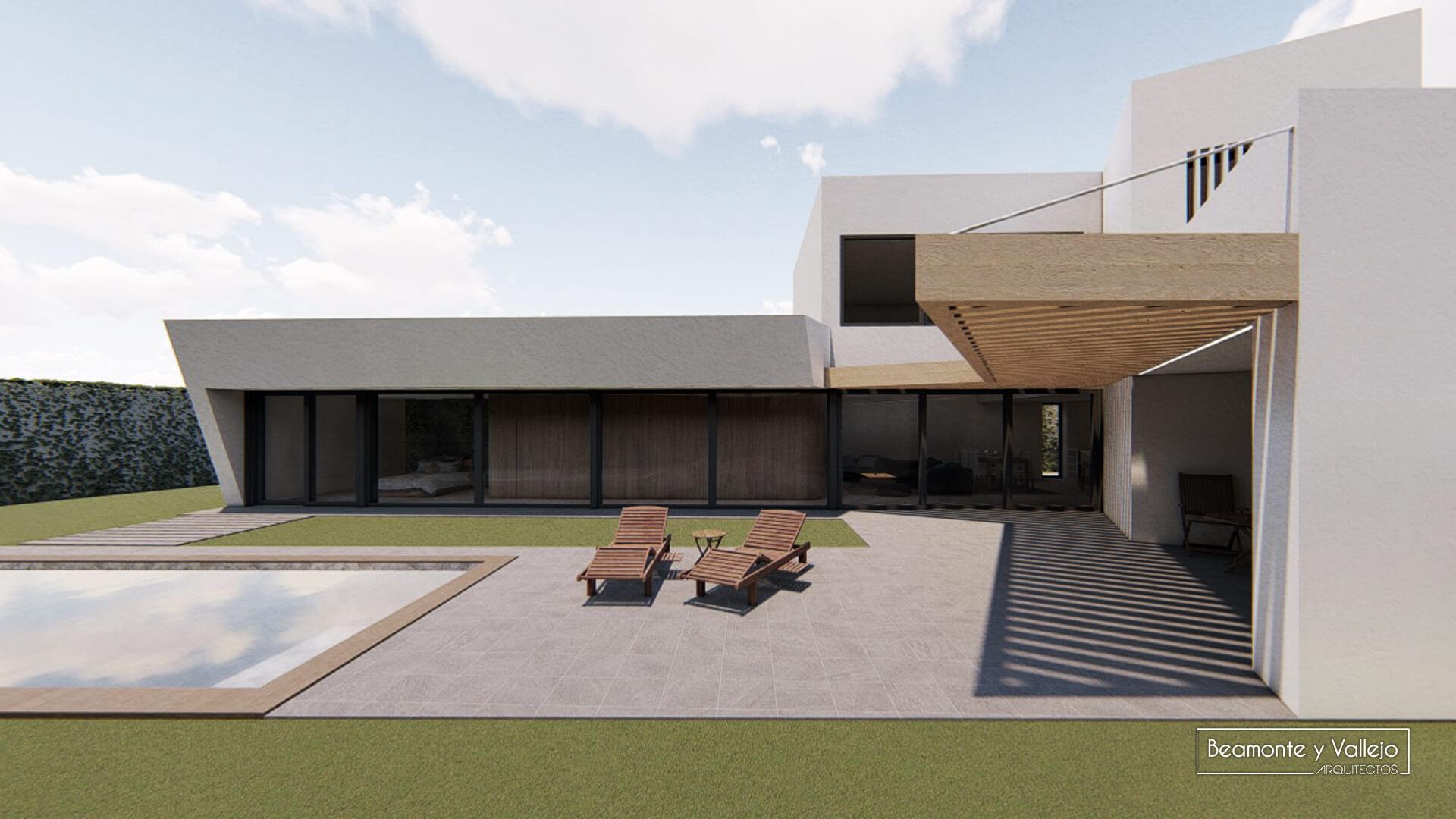 Beamonte y Vallejo arquitectos - Passivhaus Las Lomas 1 - 6