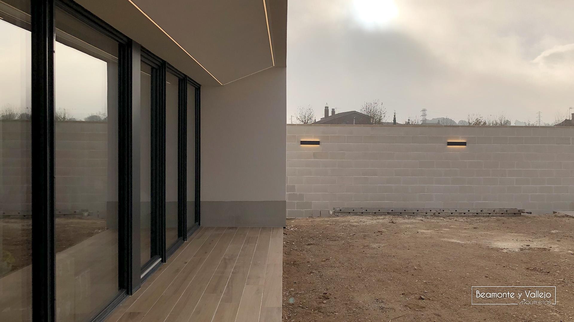 Beamonte y Vallejo arquitectos - Passivhaus, Utebo certificada 1