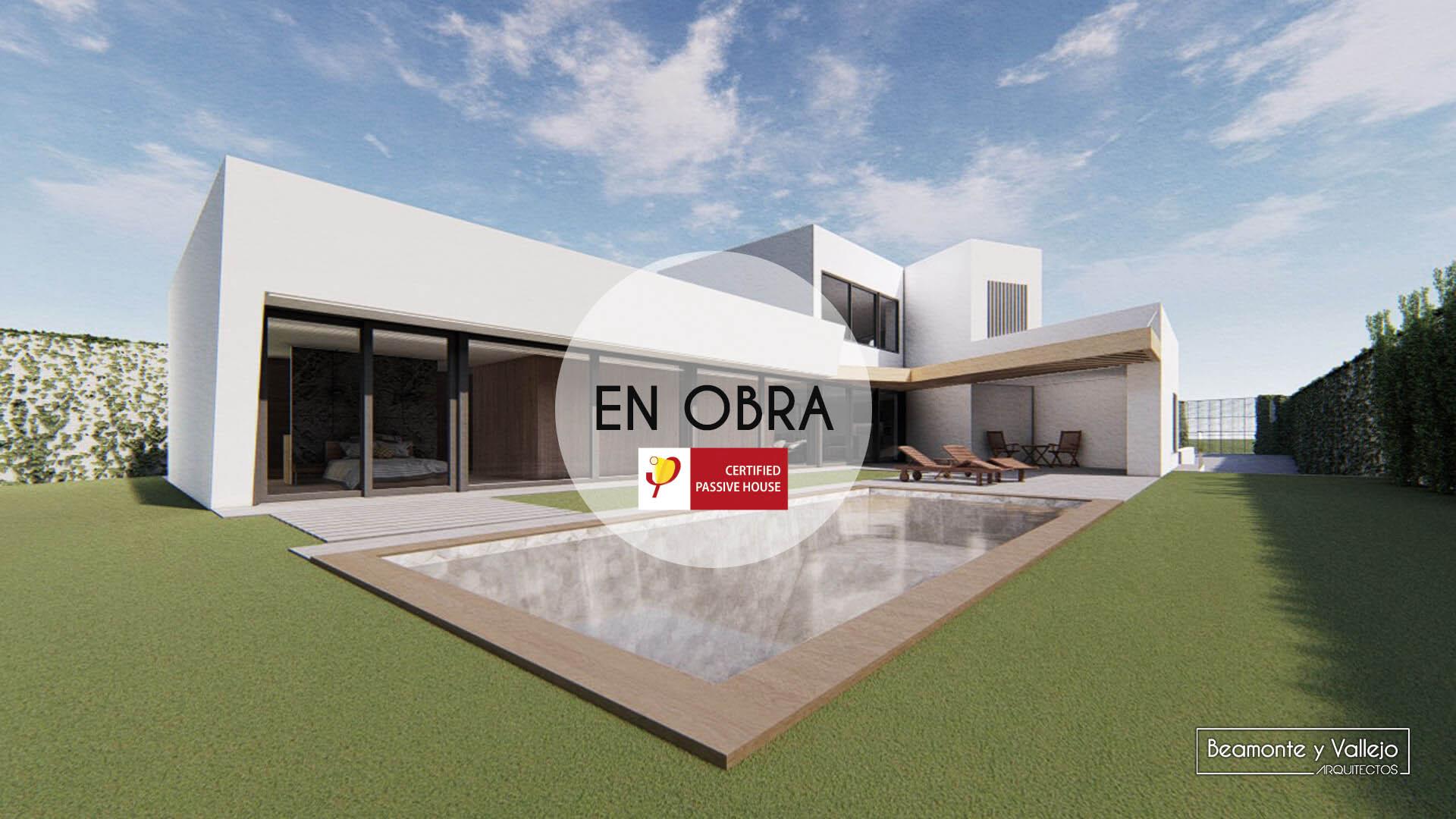 Beamonte y Vallejo arquitectos - Passivhaus Las Lomas 1 en obra - 1