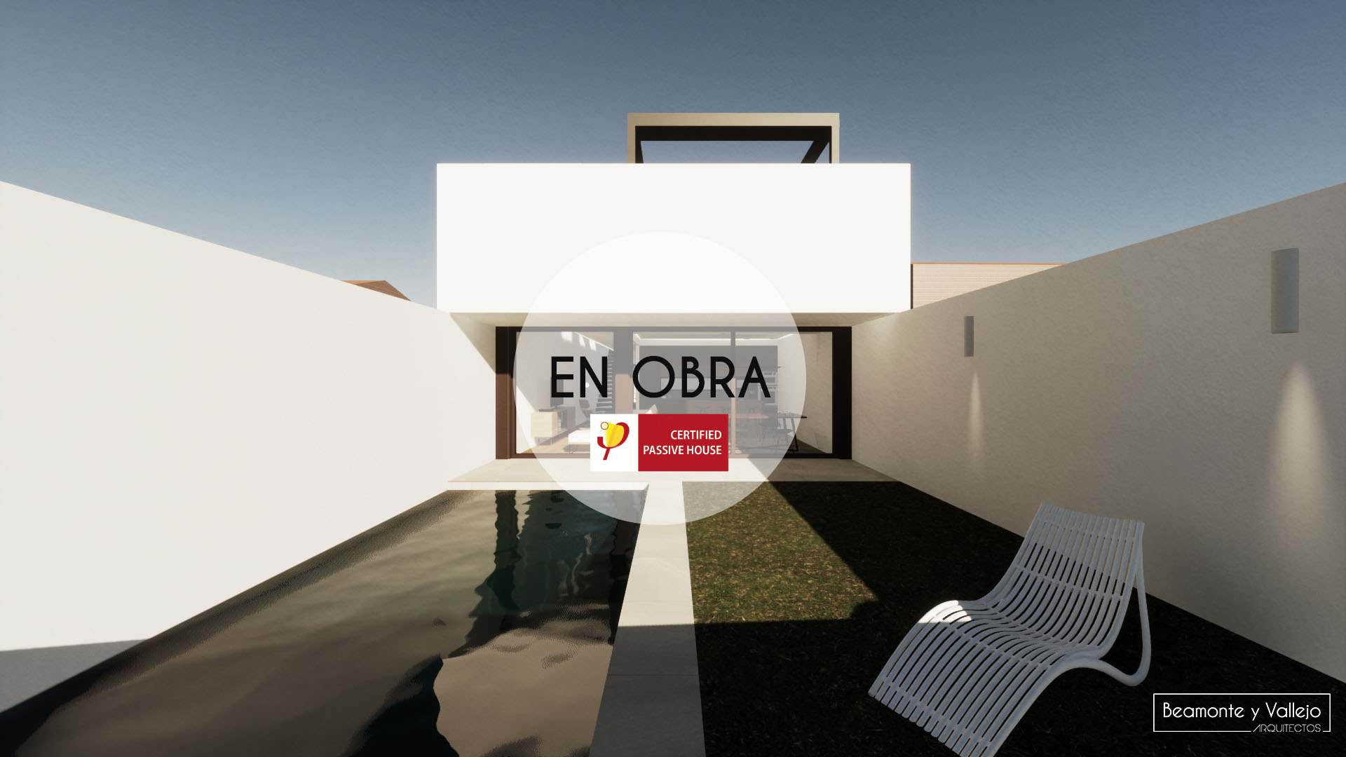 Beamonte y Vallejo arquitectos - Passivhaus Ontinar en obra - 1