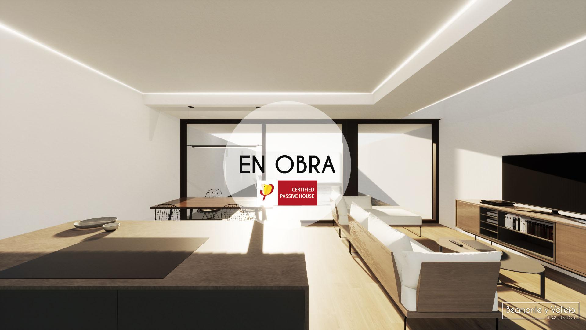 Beamonte y Vallejo arquitectos - Passivhaus Ontinar en obra - 3