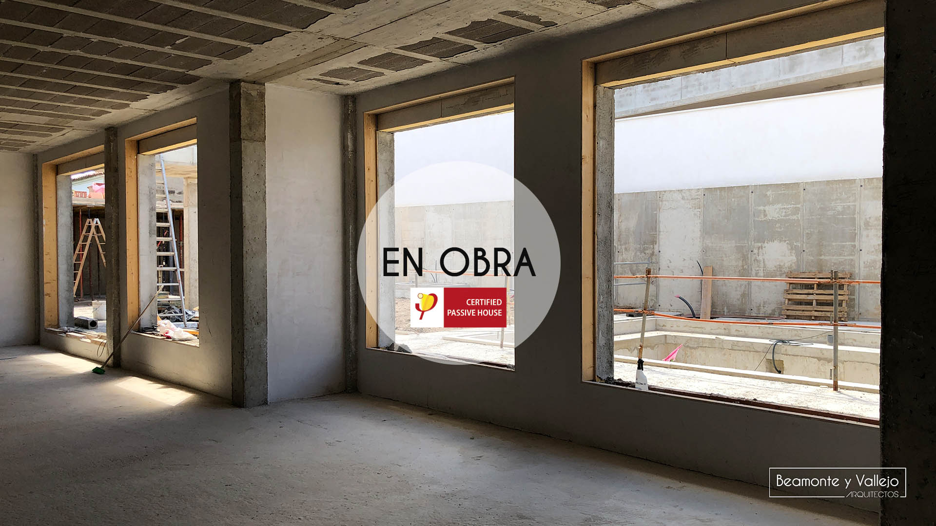 Beamonte y Vallejo arquitectos - Passivhaus Pradejón en obra - 3