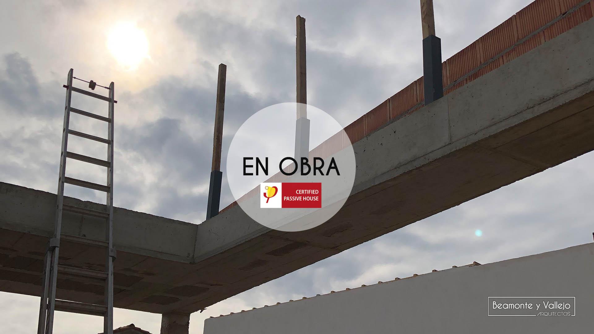 Beamonte y Vallejo arquitectos - Passivhaus Pradejón en obra - 4