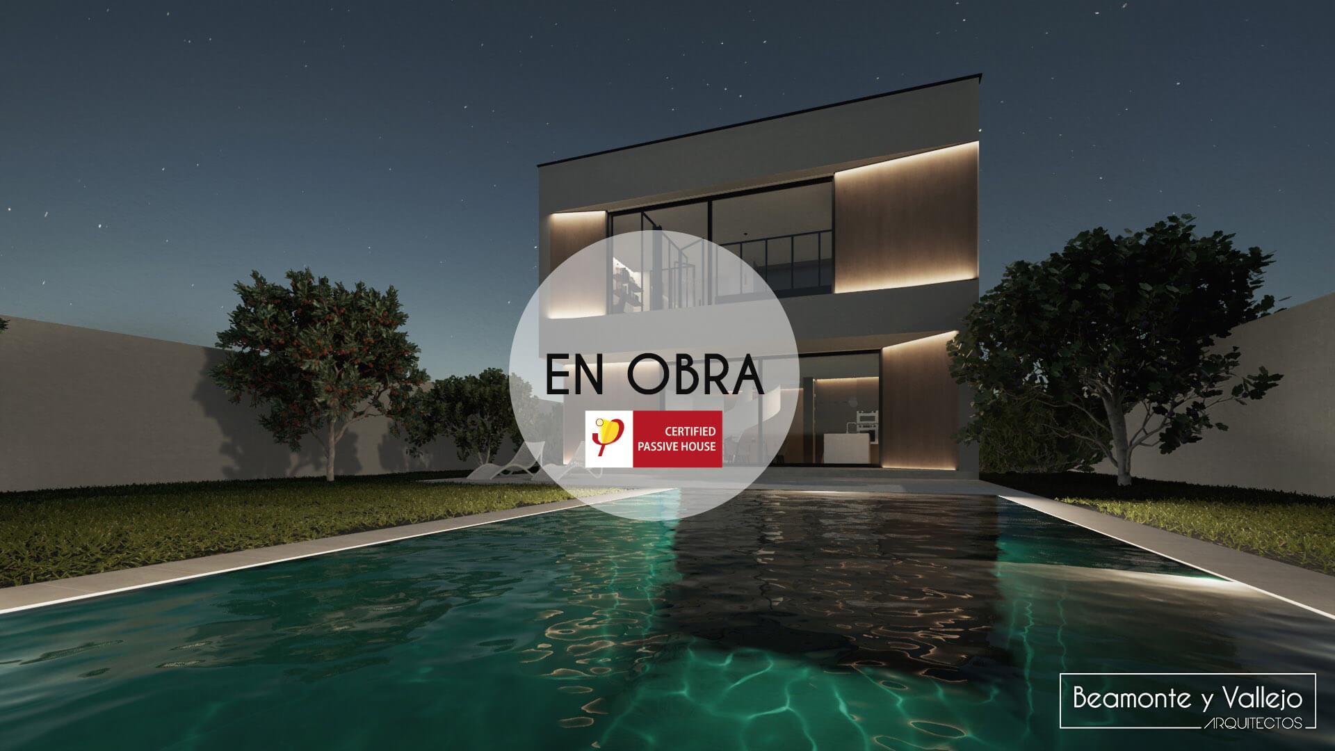 Beamonte y Vallejo arquitectos - Passivhaus Rocafort, Valencia en obra - 1