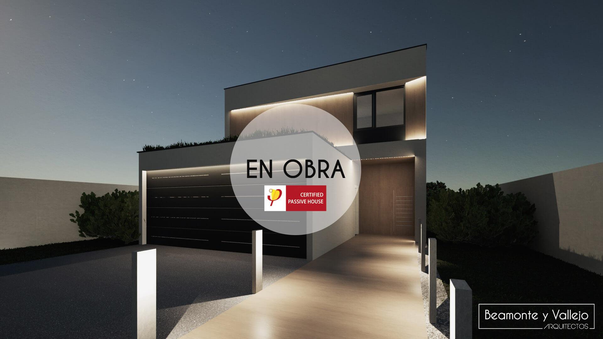 Beamonte y Vallejo arquitectos - Passivhaus Rocafort, Valencia en obra - 2