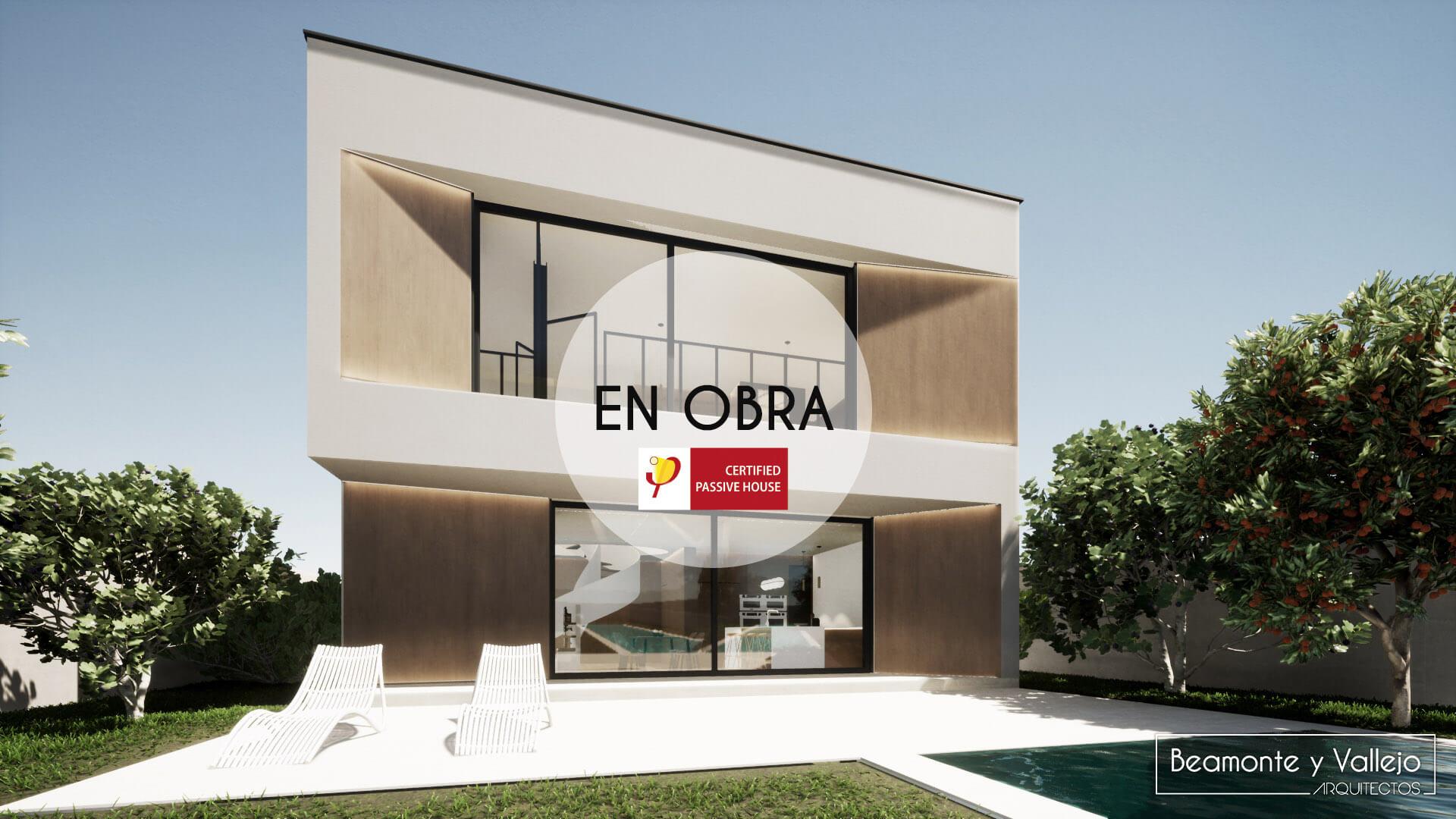 Beamonte y Vallejo arquitectos - Passivhaus Rocafort, Valencia en obra - 3
