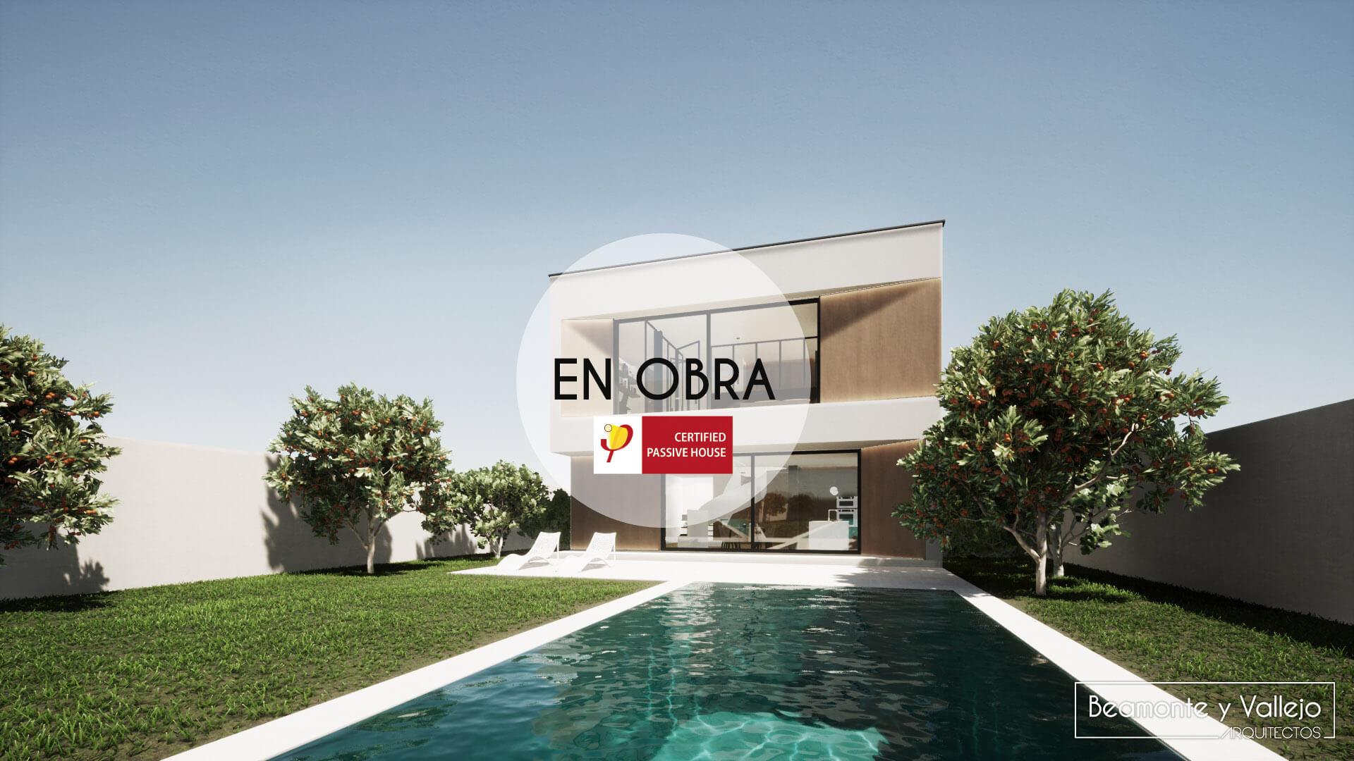Beamonte y Vallejo arquitectos - Passivhaus Rocafort, Valencia en obra - 4