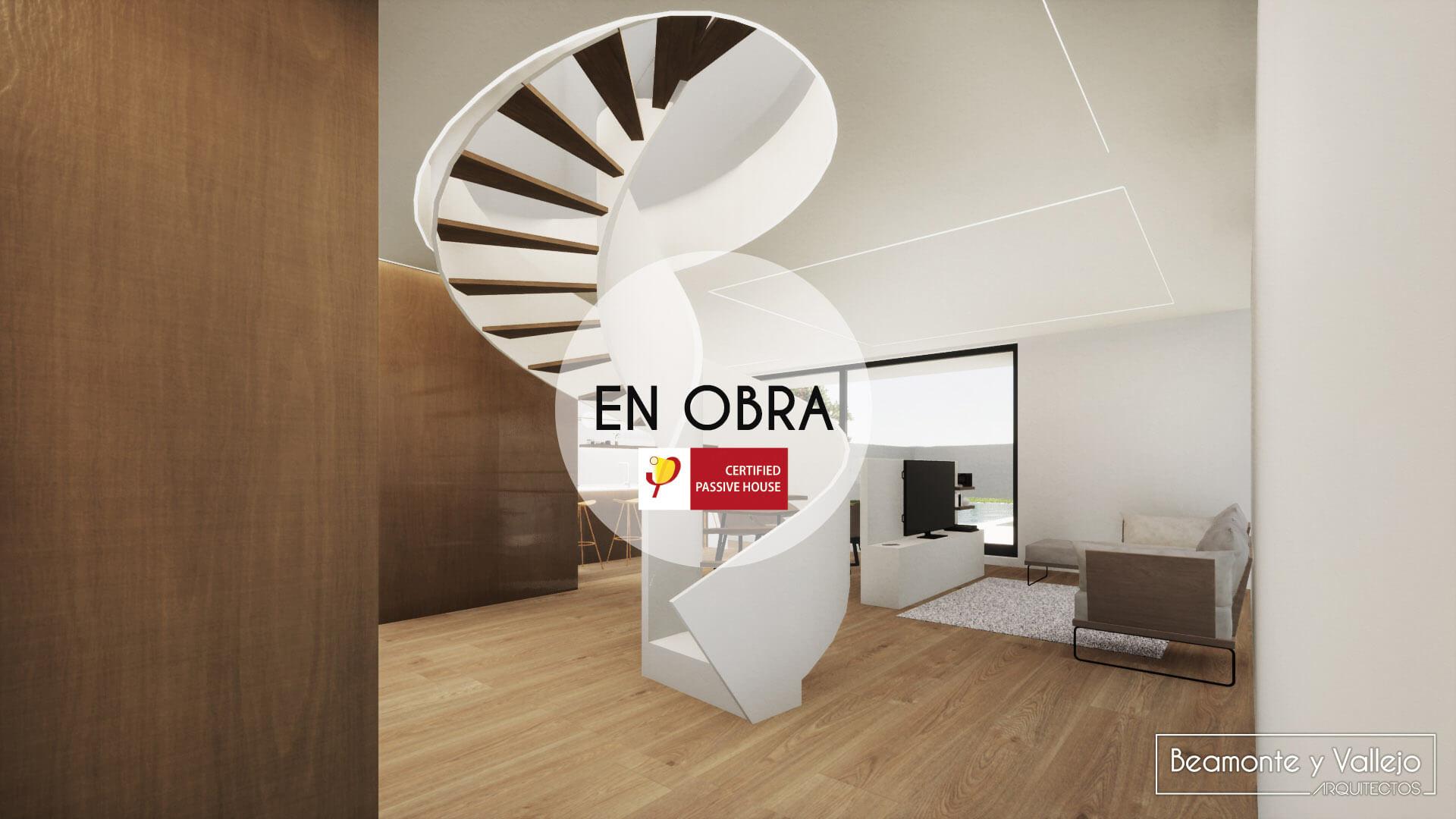 Beamonte y Vallejo arquitectos - Passivhaus Rocafort, Valencia en obra - 5