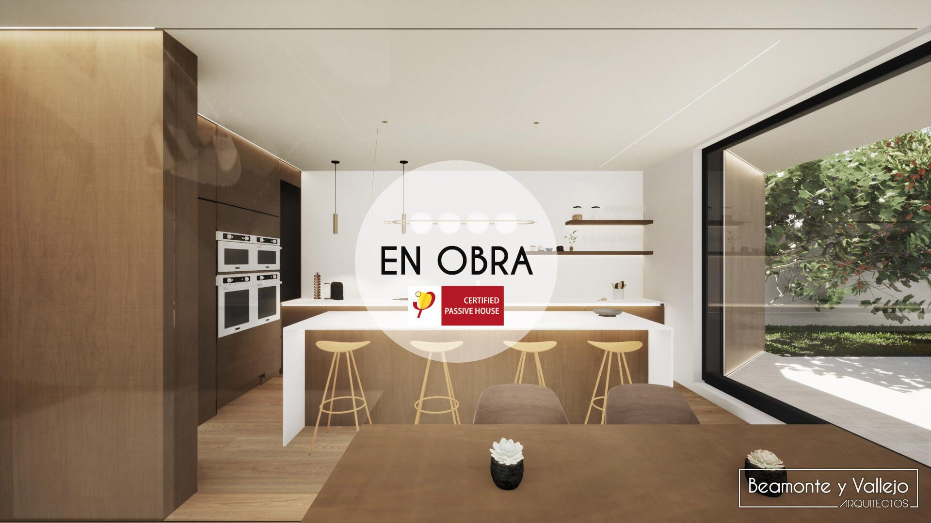 Beamonte y Vallejo arquitectos - Passivhaus Rocafort, Valencia en obra - 6
