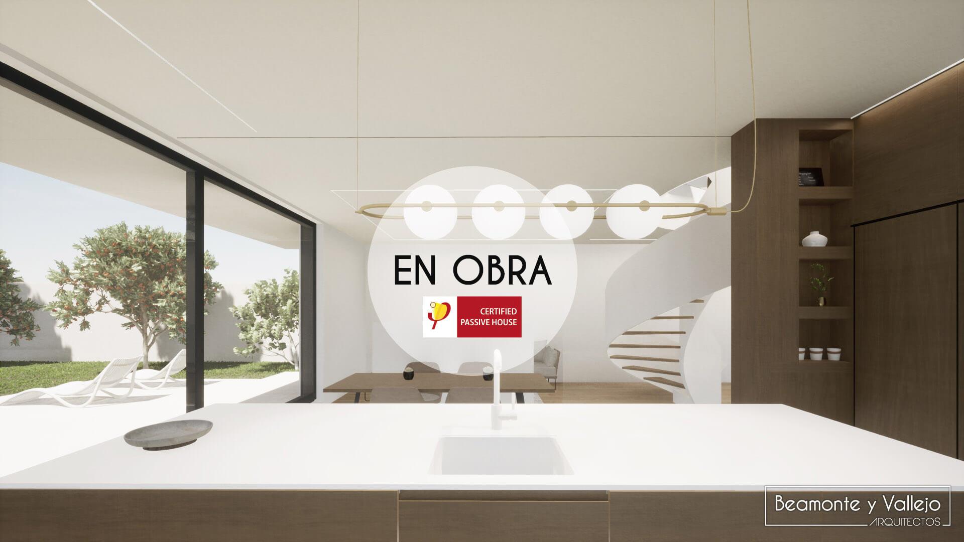 Beamonte y Vallejo arquitectos - Passivhaus Rocafort, Valencia en obra - 7