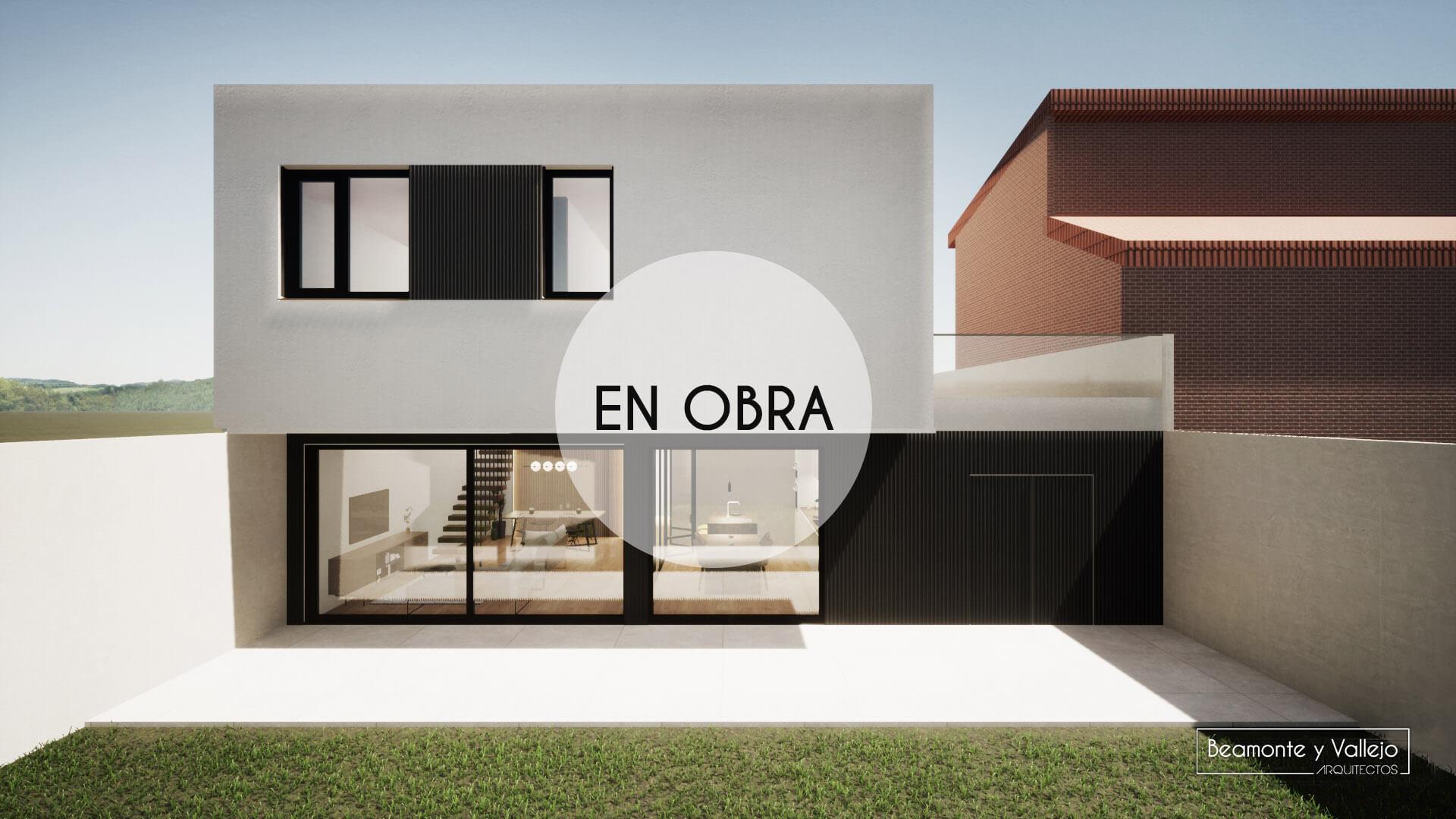 Beamonte y Vallejo arquitectos - Passivhaus Ejea en obra - 1