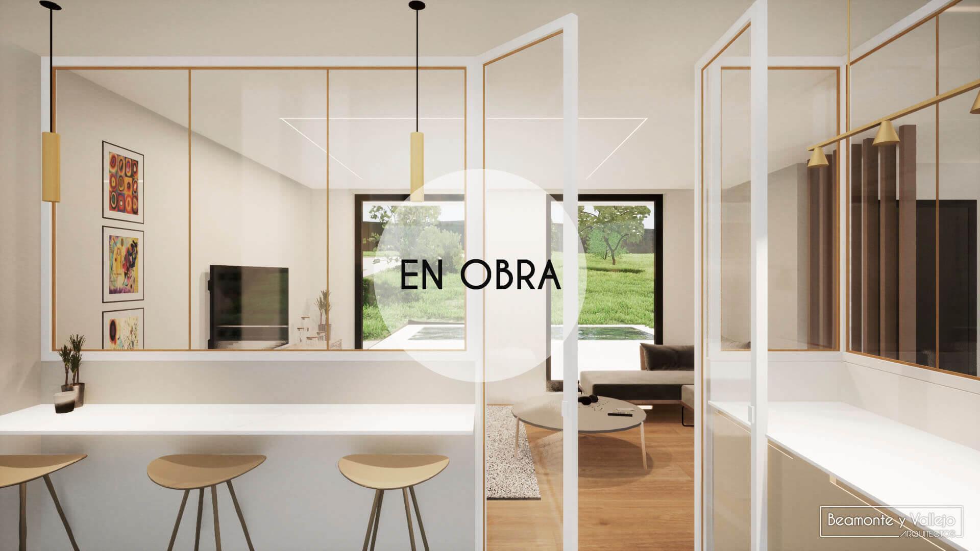 Beamonte y Vallejo arquitectos - Vivienda Jaca en obra - 4