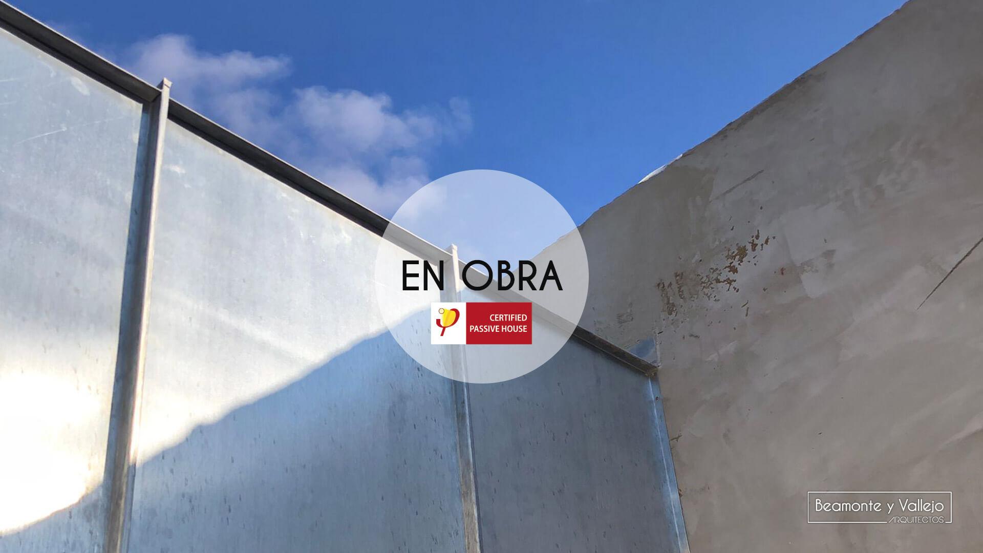 Beamonte y Vallejo arquitectos - Passivhaus El Zorongo II en obra - 04