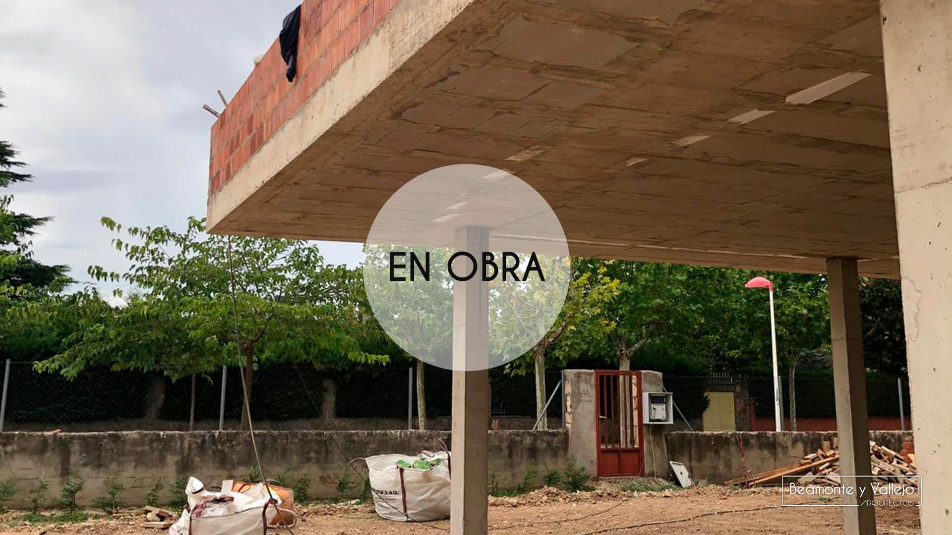Beamonte Y Vallejo Arquitectos Vivienda Las Lomas Ii En Obra 2